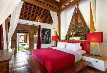 Master bedroom, Suite Louis